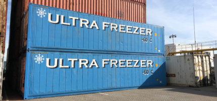 ultra freezers reefer containers beschikbaar vo